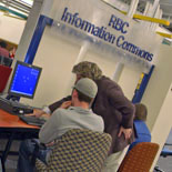 Providing assistance in Davis Information Commons